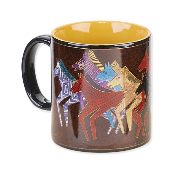 Native Horses Mug Mugs Sun'N'Sand - Laurel Burch Studios