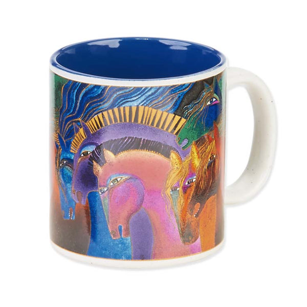 Wild Horses of Fire Mug Mugs Sun'N'Sand - Laurel Burch Studios