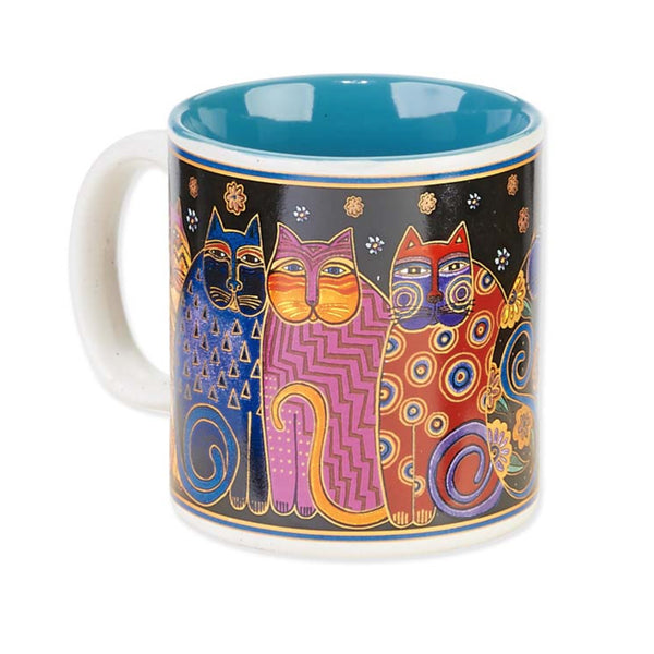 Family Feline Portrait Mug Mugs Sun'N'Sand - Laurel Burch Studios