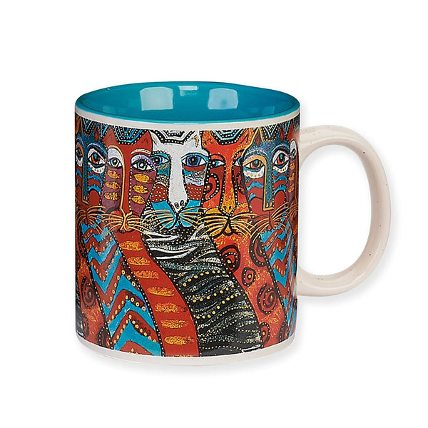 Gatos Mug Mugs Laurel Burch Studios - Laurel Burch Studios
