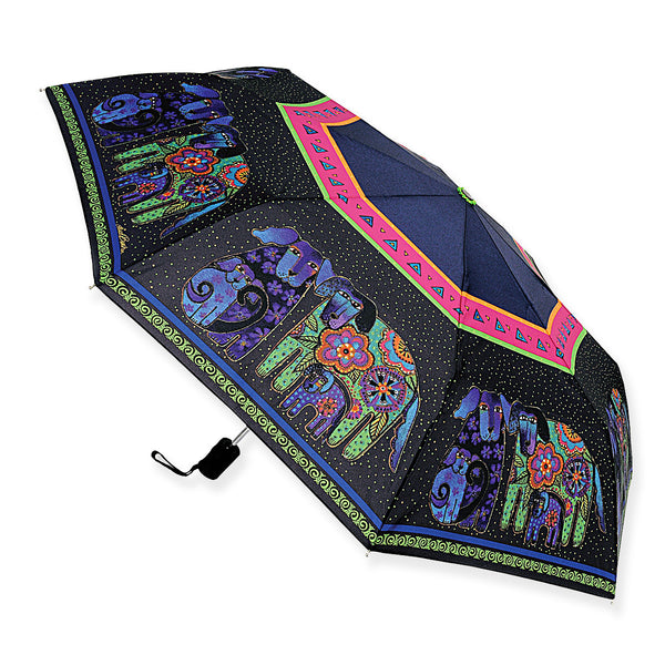 Dog And Doggies Umbrella Umbrellas Sun'N'Sand - Laurel Burch Studios