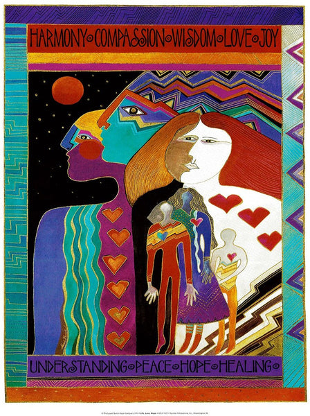 Life, Love, Hope Print Prints Laurel Burch Studios - Laurel Burch Studios