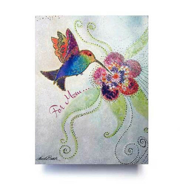 Mother's Day Card- Hummingbird
