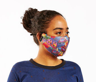 Fantasticats Adjustable Poly-Cotton Face Mask