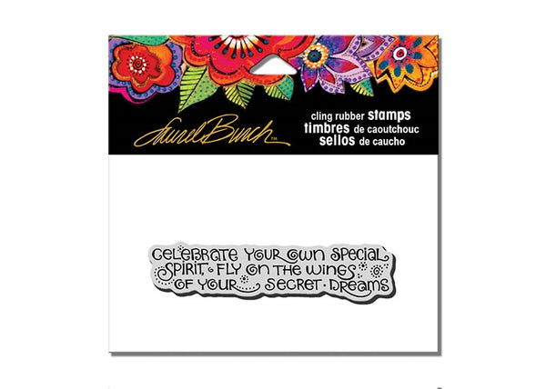 Celebrate Dreams Cling Stamp Set Stamps Laurel Burch Studios - Laurel Burch Studios