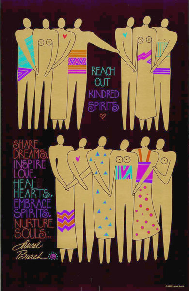 Share Dreams, Inspire Love Print Prints Laurel Burch Studios - Laurel Burch Studios
