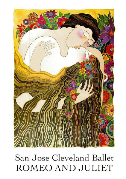 The Last Kiss Print Prints Laurel Burch Studios - Laurel Burch Studios