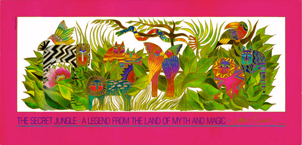 The Secret Jungle Print Prints Laurel Burch Studios - Laurel Burch Studios