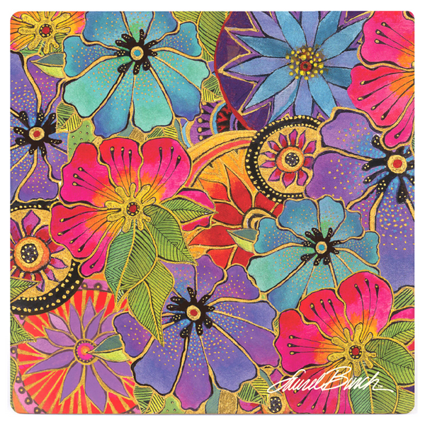 Blossoming Florals Coaster - Single