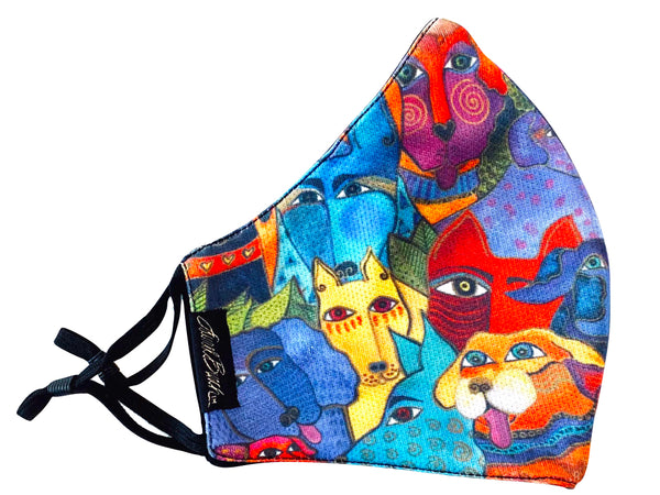 Dog and Doggies Adjustable Poly-Cotton Face Mask