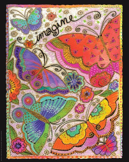 Magnet: Imagine Butterfly