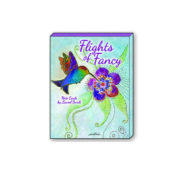 Flights of Fancy by Laurel Burch Books & Stationery Leanin' Tree - Laurel Burch Studios