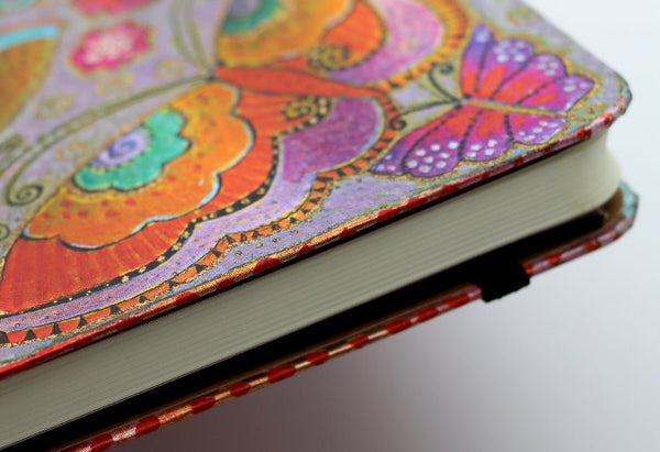 Flutterbyes 2018 Midi Dayplanner Week at a Time Books & Stationery Hartley & Marks - Laurel Burch Studios