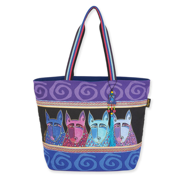 Canine Tribe Shoulder Tote