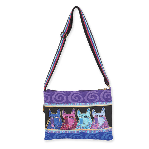 60960723539 Canine Tribe Crossbody Bags Laurel Burch Studios - Laurel Burch Studios