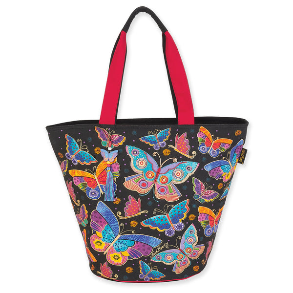 Butterflies Shoulder Tote Bags Sun'N'Sand - Laurel Burch Studios