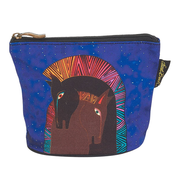 Embracing Horses Square Coin Purse Bags Laurel Burch Studios - Laurel Burch Studios