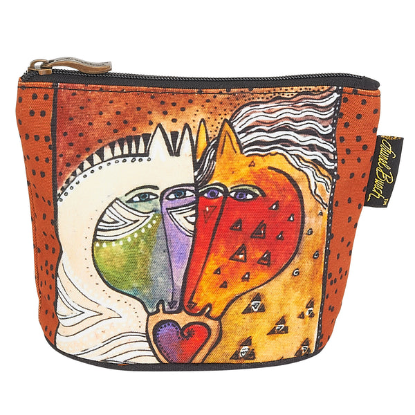 Love Horses Square Coin Purse Bags Laurel Burch Studios - Laurel Burch Studios
