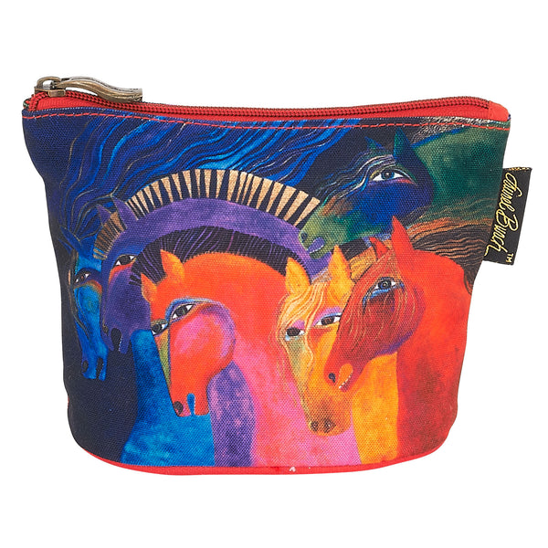 Wild Horses of Fire Square Coin Purse Bags Laurel Burch Studios - Laurel Burch Studios