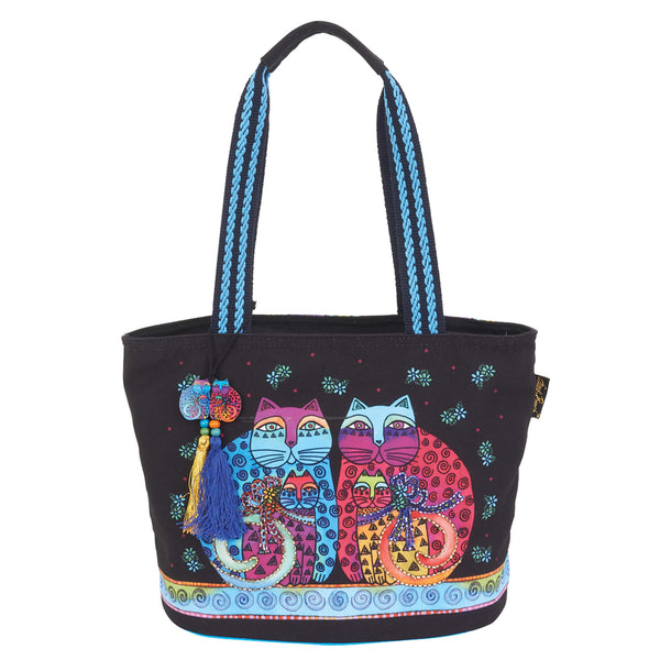 Feline Set Medium Tote Bags Laurel Burch Studios - Laurel Burch Studios