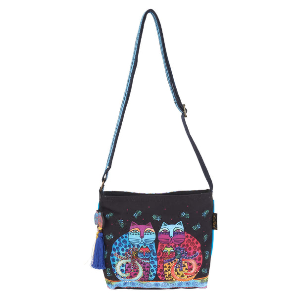Feline Set Crossbody Bags Sun'N'Sand - Laurel Burch Studios
