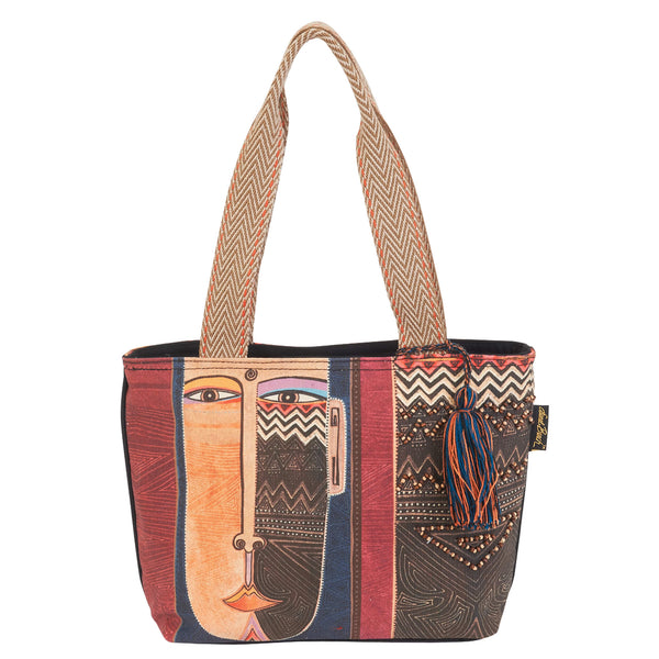 Celebrating Humankind Medium Tote Bags Sun'N'Sand - Laurel Burch Studios