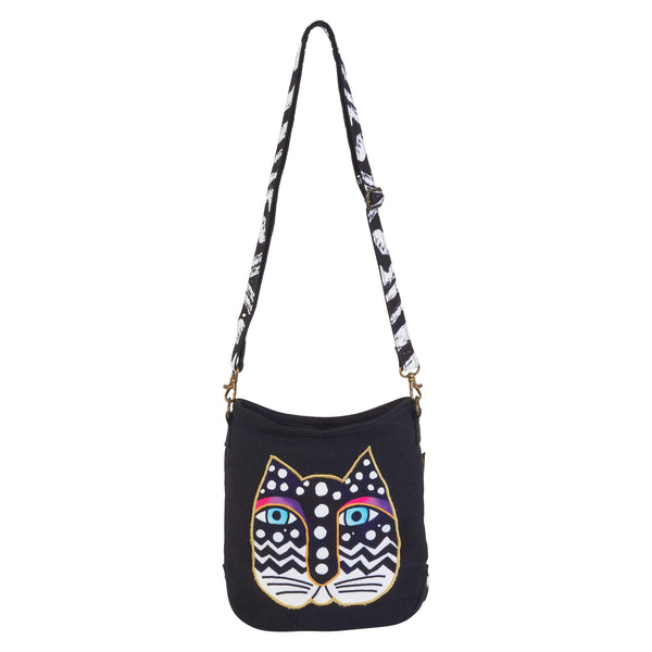Polka Dot Cat Crossbody Bags Sun'N'Sand - Laurel Burch Studios