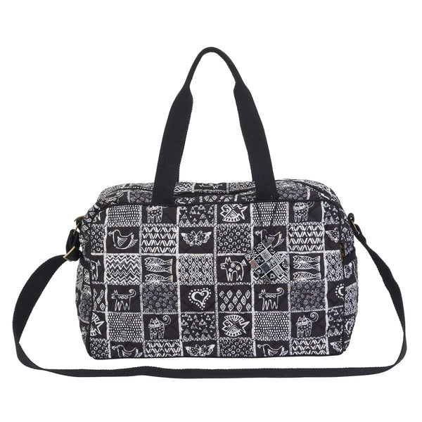 Quilted Cotton Weekender Bags Laurel Burch Studios - Laurel Burch Studios