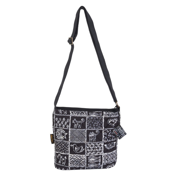 c49303868c9 Quilted Cotton Crossbody Bags Sun'N'Sand - Laurel Burch Studios