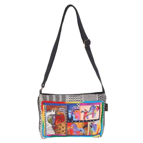 Pathwork Horses Crossbody Bags Sun'N'Sand - Laurel Burch Studios