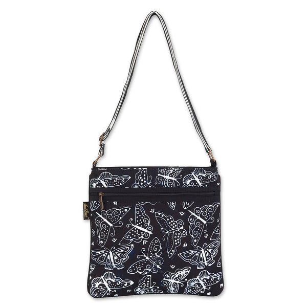 Black and White Butterflies Crossbody