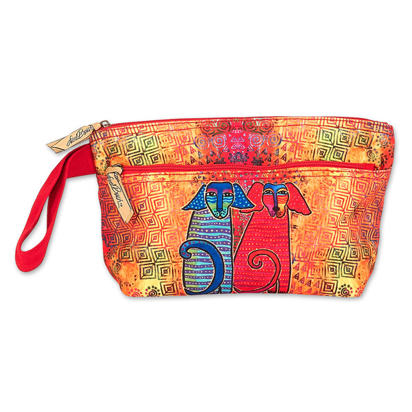 Canine Friends Wristlet