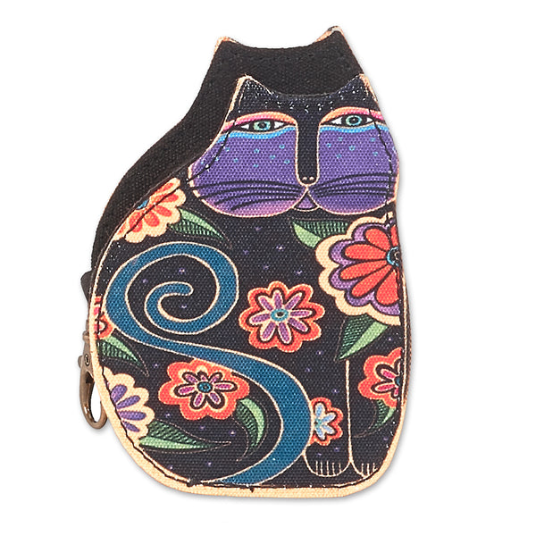 Flowering Cat Coin Purse