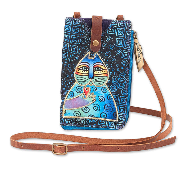 Wishing Love Feline Phone Storage Crossbody