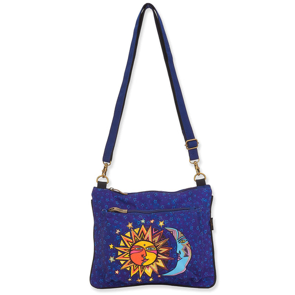 Celestial Sun & Moon Crossbody
