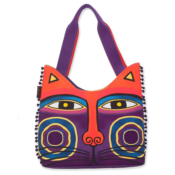 Magnificat Scoop Tote - Purple