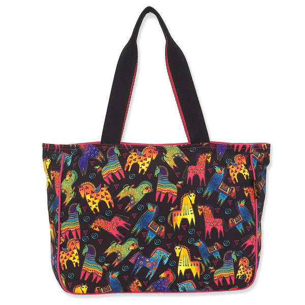 Rainbow Mares Shoulder Tote - Large
