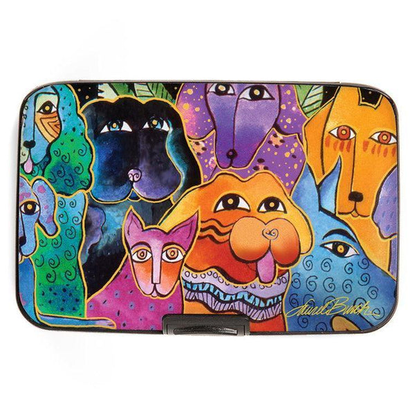 Dogs Wallet Wallet Monarque by Fig Design - Laurel Burch Studios