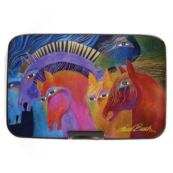 Wild Horses of Fire Wallet Wallet Monarque by Fig Design - Laurel Burch Studios