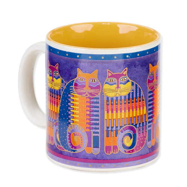 Rainbow Cats Cousins Mug Mugs Sun'N'Sand - Laurel Burch Studios