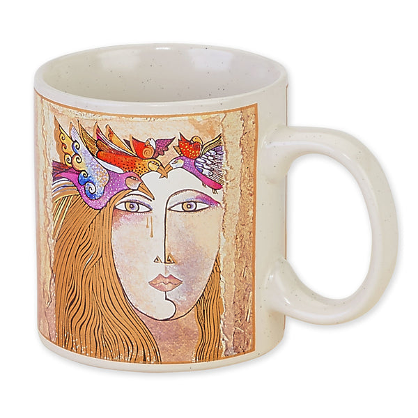 Soul and Tears Mug Mugs Sun'N'Sand - Laurel Burch Studios