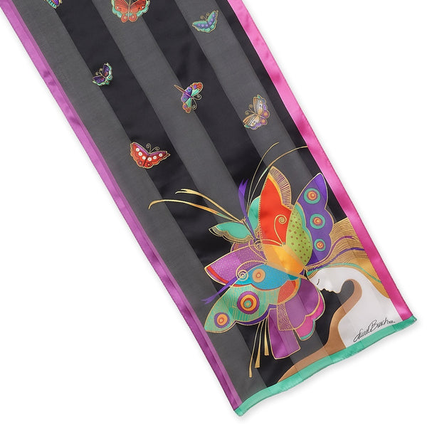 Midsummer Night's Dream Silk Scarf Scarves Sun'N'Sand - Laurel Burch Studios