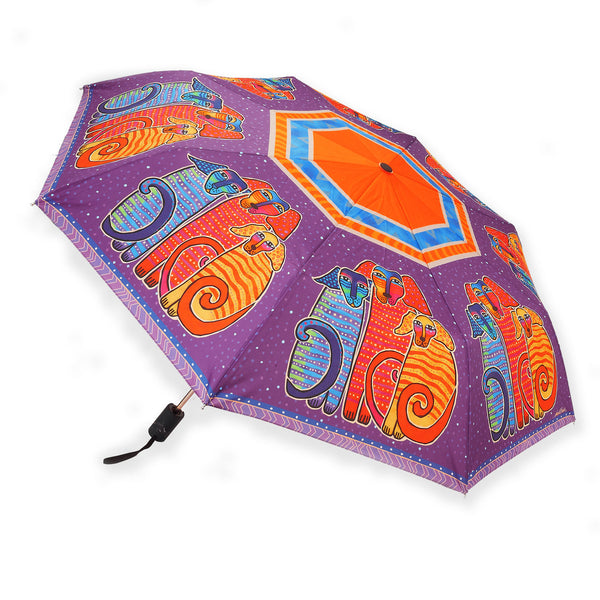 Canine Friends Umbrella Umbrellas Sun'N'Sand - Laurel Burch Studios