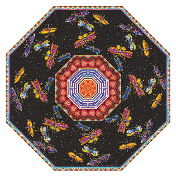 Colorful Dragonflies Umbrella Umbrellas Sun'N'Sand - Laurel Burch Studios