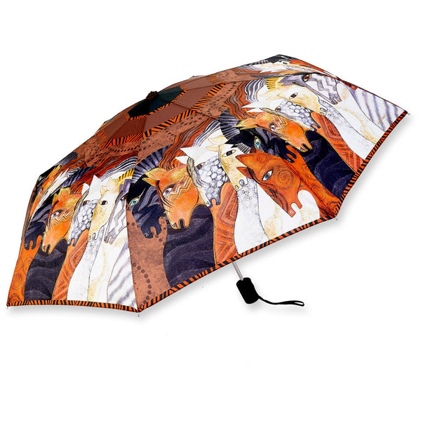 Moroccan Mares Collapsible Umbrella