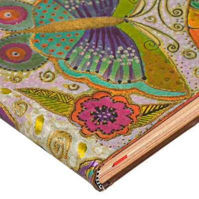 Flutterbyes Flexis Ultra Notebook Books & Stationery Laurel Burch Studios - Laurel Burch Studios