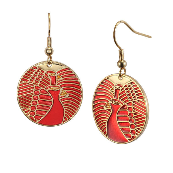 Moon Doves Earrings Jewelry Laurel Burch Jewelry - Laurel Burch Studios