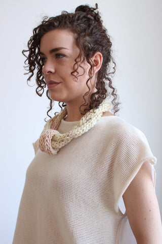 Chunky Knit Necklace