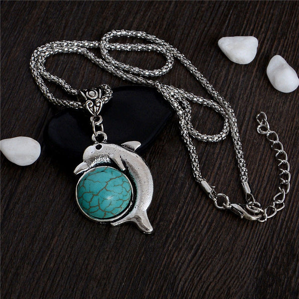 Save The Dolphins Pendant