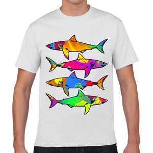 Psychedelic Sharks T-Shirt
